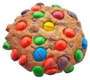 Chocolate Chip M&M Cookie from King Street Cookies
